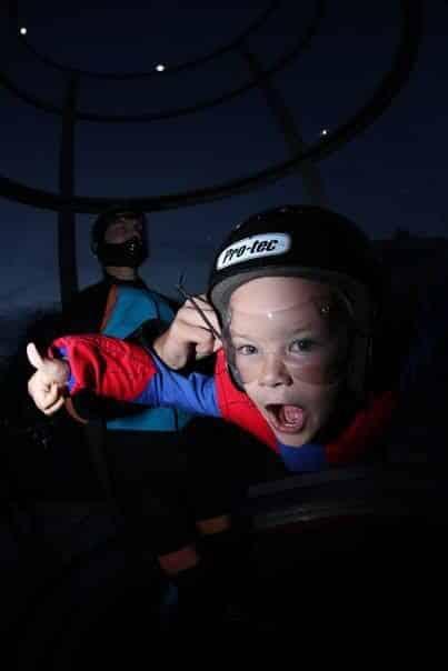simulateur de chute libre - Vol enfant basique